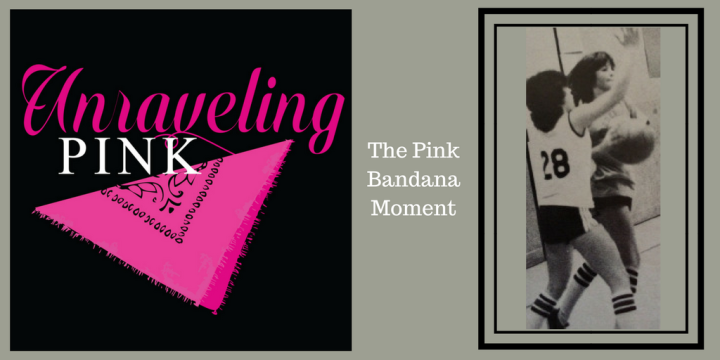 Tweet sized pink bandana canva
