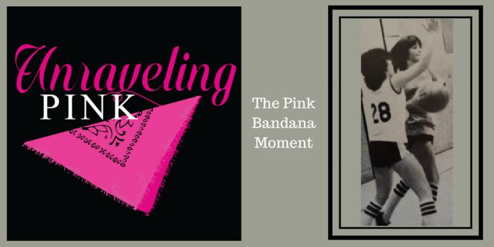 Tweet sized pink bandana canva